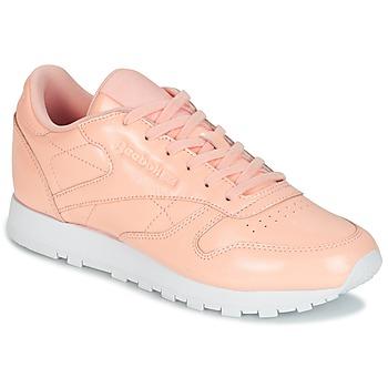 Παπούτσια Γυναίκα Χαμηλά Sneakers Reebok Classic CLASSIC LEATHER PATENT Ροζ