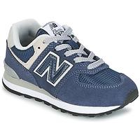 Παπούτσια Παιδί Χαμηλά Sneakers New Balance 574 Marine