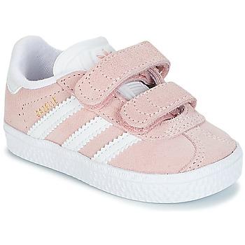 Παπούτσια Κορίτσι Χαμηλά Sneakers adidas Originals GAZELLE CF I Ροζ