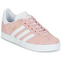 Παπούτσια Κορίτσι Χαμηλά Sneakers adidas Originals GAZELLE C Ροζ