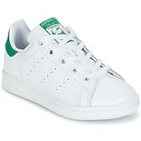 Παπούτσια Παιδί Χαμηλά Sneakers adidas Originals STAN SMITH C Άσπρο / Green