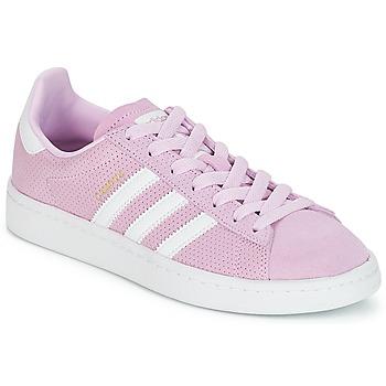 Παπούτσια Κορίτσι Χαμηλά Sneakers adidas Originals CAMPUS J Ροζ