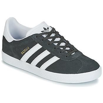 Παπούτσια Παιδί Χαμηλά Sneakers adidas Originals GAZELLE J Grey