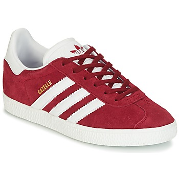 Παπούτσια Παιδί Χαμηλά Sneakers adidas Originals GAZELLE J Bordeaux