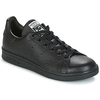 Παπούτσια Παιδί Χαμηλά Sneakers adidas Originals STAN SMITH J Black