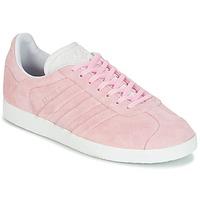 Παπούτσια Γυναίκα Χαμηλά Sneakers adidas Originals GAZELLE STITCH Ροζ