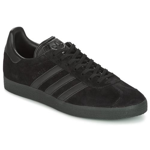Παπούτσια Άνδρας Χαμηλά Sneakers adidas Originals GAZELLE Black