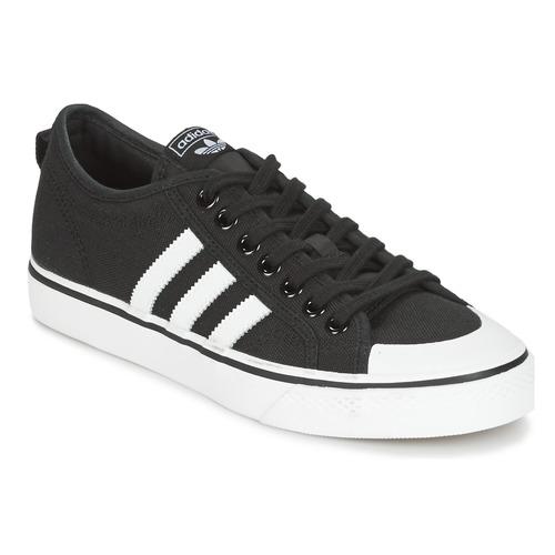 Παπούτσια Άνδρας Χαμηλά Sneakers adidas Originals NIZZA Black