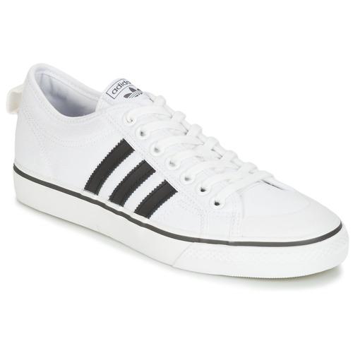 Παπούτσια Χαμηλά Sneakers adidas Originals NIZZA Άσπρο