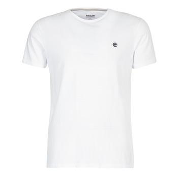 Υφασμάτινα Άνδρας T-shirt με κοντά μανίκια Timberland SS DUNSTAN RIVER CREW TEE Άσπρο