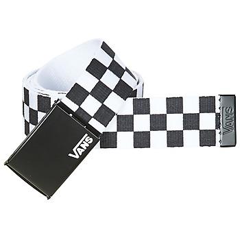 Αξεσουάρ Άνδρας Ζώνες Vans DEPPSTER II Black / Άσπρο