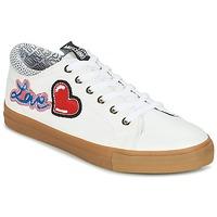 Παπούτσια Γυναίκα Χαμηλά Sneakers Love Moschino JA15213G15 Άσπρο
