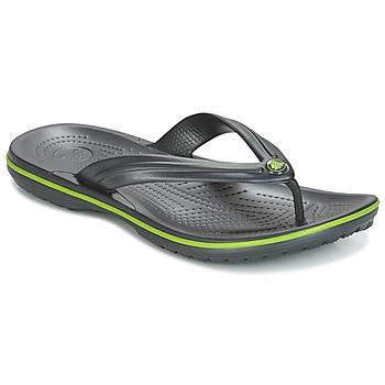 Παπούτσια Σαγιονάρες Crocs CROCBAND FLIP Black / Green