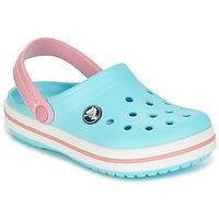 Παπούτσια Παιδί Σαμπό Crocs Crocband Clog Kids Μπλέ / Ροζ