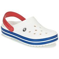 Παπούτσια Σαμπό Crocs CROCBAND Άσπρο / Μπλέ / Red