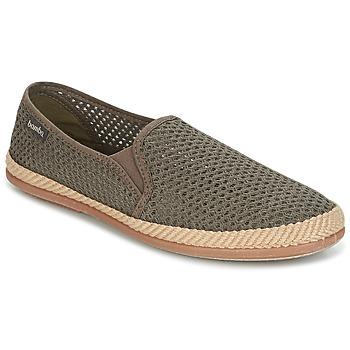 Παπούτσια Άνδρας Slip on Bamba By Victoria COPETE ELASTICO REJILLA TRENZA Taupe