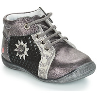 Παπούτσια Κορίτσι Μπότες GBB RESTITUDE Argenté / Black / Grey