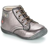 Παπούτσια Κορίτσι Μπότες GBB NICOLE Violet / Μεταλικό