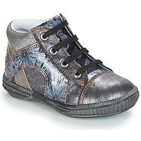Παπούτσια Κορίτσι Ψηλά Sneakers GBB ROSETTA Silver / Μπλέ