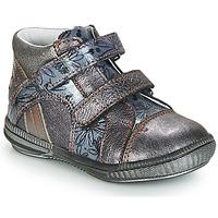 Παπούτσια Κορίτσι Μπότες GBB ROXANE Vnv / Grey / ΜΠΛΕ-ΜΕ prints / Dpf / Sabina