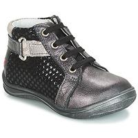Παπούτσια Κορίτσι Ψηλά Sneakers GBB RICHARDINE Black / Grey