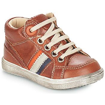 Παπούτσια Αγόρι Μπότες για την πόλη GBB ANGELITO Brown