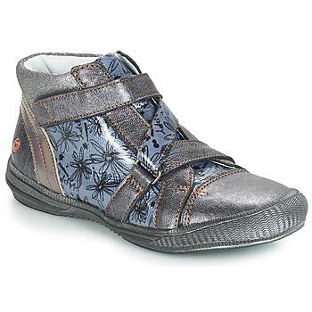 Παπούτσια Κορίτσι Μπότες GBB RADEGONDE Vnv / Grey / ΜΠΛΕ-ΜΕ prints / Dpf / Sabina