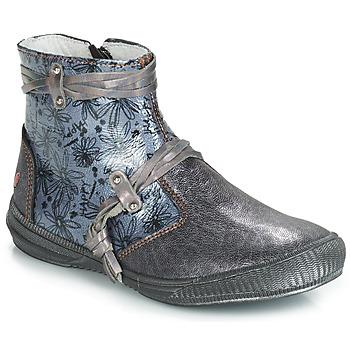Παπούτσια Κορίτσι Μπότες GBB REVA Grey / Μπλέ