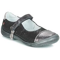Παπούτσια Κορίτσι Μπαλαρίνες GBB RIKA Black / Silver