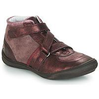 Παπούτσια Κορίτσι Ψηλά Sneakers GBB RIQUETTE Brown / Bronze