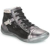 Παπούτσια Κορίτσι Ψηλά Sneakers GBB ROMIE Grey / Black