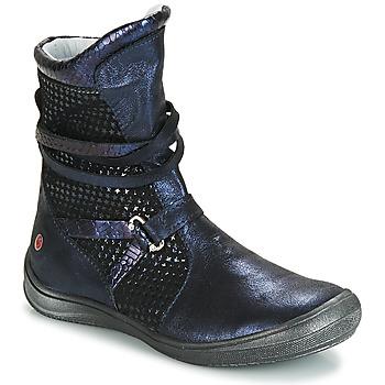 Παπούτσια Κορίτσι Μπότες για την πόλη GBB ROSANA Μπλέ / Black