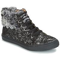 Παπούτσια Κορίτσι Ψηλά Sneakers GBB ROBERTA Black