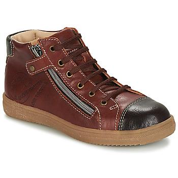 Παπούτσια Αγόρι Ψηλά Sneakers GBB NICO Brown