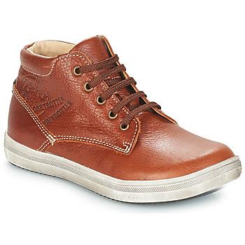 Παπούτσια Αγόρι Μπότες για την πόλη GBB NINO Vte / Fauve / Dpf / 2835