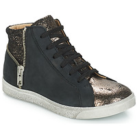 Παπούτσια Κορίτσι Ψηλά Sneakers GBB CARLA Black / Bronze