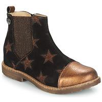 Παπούτσια Κορίτσι Μπότες GBB LEONTINA Black / Cuivré