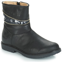 Παπούτσια Κορίτσι Μπότες για την πόλη GBB MAFALDA Black