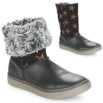 Παπούτσια Κορίτσι Μπότες για την πόλη Achile DUBROVNIK Black