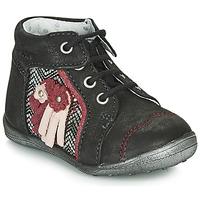 Παπούτσια Κορίτσι Μπότες Catimini RAINETTE Ctv / Μαυρο-ασημι / Dpf / Gluck
