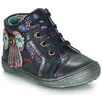Παπούτσια Κορίτσι Μπότες Catimini RHUBARBE Marine