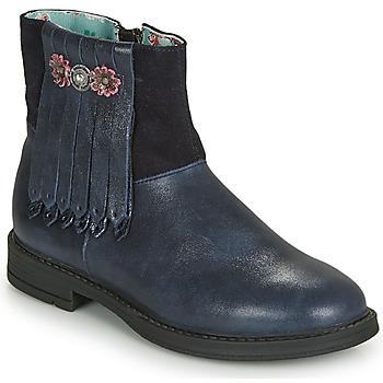 Παπούτσια Κορίτσι Μπότες για την πόλη Catimini RENOUEE Vtc / Marine / Dpf / Saila