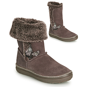 Παπούτσια Κορίτσι Μπότες για την πόλη Catimini ROMA Brown