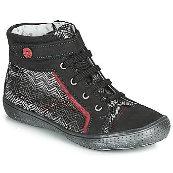 Ψηλά Sneakers Catimini ROSIERE ΣΤΕΛΕΧΟΣ: Δέρμα & ΕΠΕΝΔΥΣΗ: Δέρμα & ΕΣ. ΣΟΛΑ: Δέρμα & ΕΞ. ΣΟΛΑ: Καουτσούκ