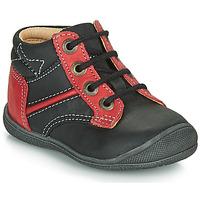 Παπούτσια Αγόρι Μπότες Catimini RATON Vte /  μαύρο-κόκκινο / Dpf / Kimbo