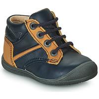 Παπούτσια Αγόρι Μπότες Catimini RATON Marine / Ocre