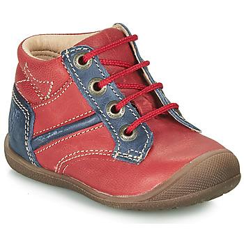Παπούτσια Αγόρι Μπότες Catimini RATON Vte / ΚΟΚΚΙΝΟ-ΜΠΛΕ / Dpf / Kimbo