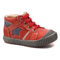 Παπούτσια Αγόρι Μπότες Catimini RENARD Vte / ΚΟΚΚΙΝΟ-ΜΠΛΕ / Dpf / Linux