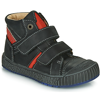 Παπούτσια Αγόρι Ψηλά Sneakers Catimini RAIFORT Black / Red