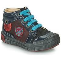 Παπούτσια Αγόρι Μπότες Catimini ROCOU Vts / ΜΠΛΕ-ΜΠΟΡΝΤΩ / Dpf / 2831